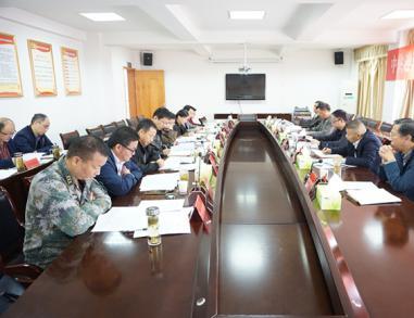 迎江区委常委会召开省委巡视整改专题民主生活会